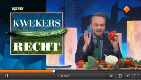 Kwekersrecht op tv