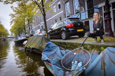 Ecover introduceert fles afwasmiddel gemaakt met Amsterdams Grachtenplastic